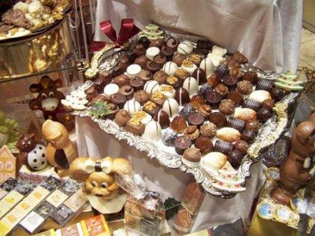 Шоколадные традиции Бельгии