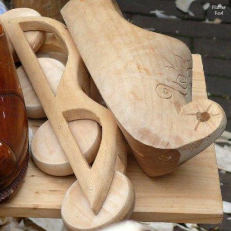 Деревянные кломпены – один из символов Голландии